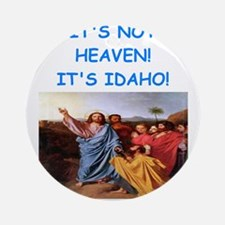 idaho Ornament (Round)