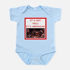 arkansas Infant Bodysuit