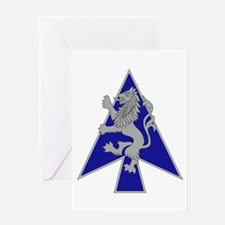 2 Brigade, 1st Infantry Division.ps Greeting Cards