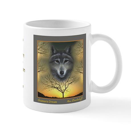Wolf ~ 'Shaman's Dream' ~ Small Mug