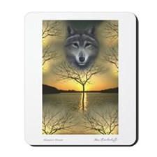 Wolf ~ 'Shaman's Dream' Mousepad