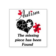 Autism - The Missing Piece Has Been Found Sticker