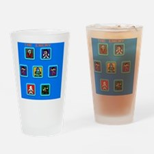 The Enemy Stage Select Drinking Glass
