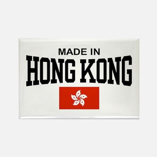Made in Hong Kong Rectangle Magnet