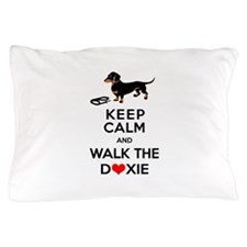Funny Dachshund Design Pillow Case