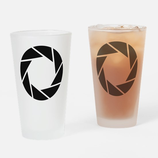 Aperture Science Drinking Glass