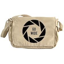 Go Wide Funny Photographer Messenger Bag