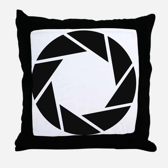 Aperture Science Throw Pillow