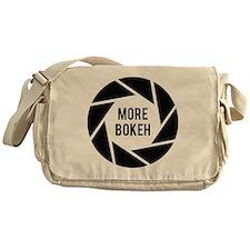 More Bokeh Photographer Messenger Bag