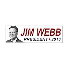 Jim Webb President 2016 Car Magnet 10 x 3