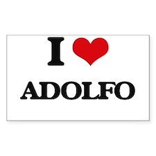 I Love Adolfo Decal