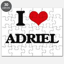 I Love Adriel Puzzle