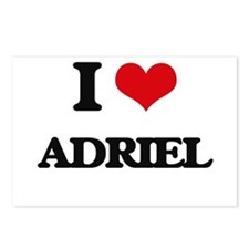 I Love Adriel Postcards (Package of 8)