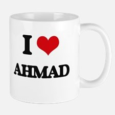 I Love Ahmad Mugs