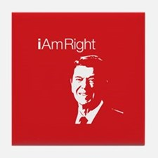 i Am Right. v4 Tile Coaster