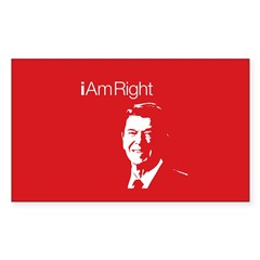 i Am Right. v4 Rectangle Decal