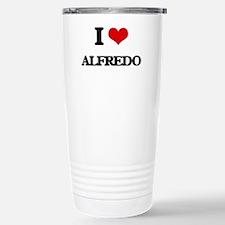I Love Alfredo Travel Mug