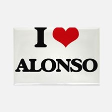 I Love Alonso Magnets
