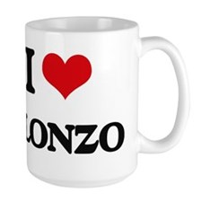 I Love Alonzo Mugs