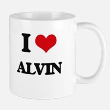I Love Alvin Mugs