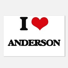I Love Anderson Postcards (Package of 8)