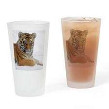 Funny Baby wild animals Drinking Glass