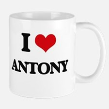 I Love Antony Mugs