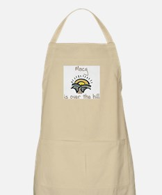 Macy is over the hill BBQ Apron