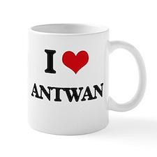 I Love Antwan Mugs