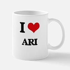 I Love Ari Mugs