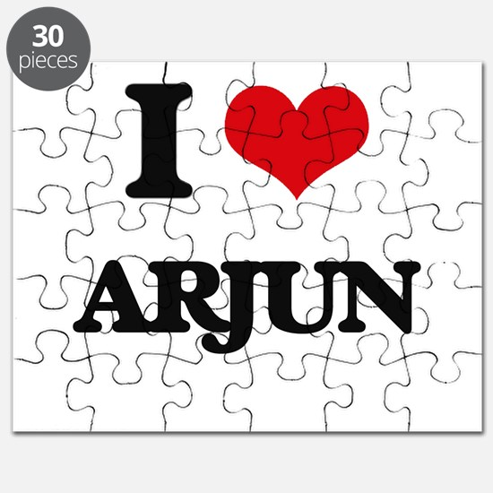 I Love Arjun Puzzle