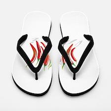Chilli Peppers Flip Flops