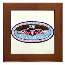 USS ULYSSES S. GRANT Framed Tile