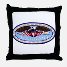 USS ULYSSES S. GRANT Throw Pillow