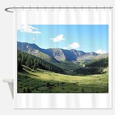 Rocky Mountains Colorado Shower Curtain
