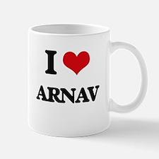 I Love Arnav Mugs