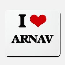 I Love Arnav Mousepad