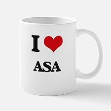 I Love Asa Mugs