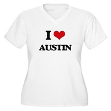 I Love Austin Plus Size T-Shirt