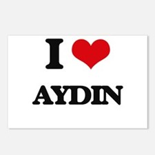 I Love Aydin Postcards (Package of 8)