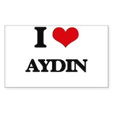 I Love Aydin Decal