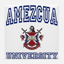 AMEZCUA University Tile Coaster