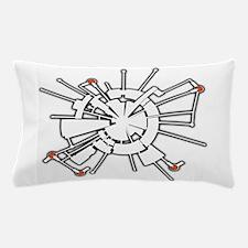 AlphaHalftone Pillow Case