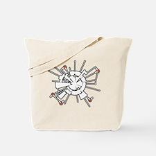AlphaHalftone Tote Bag
