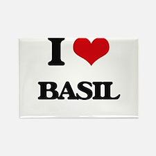 I Love Basil Magnets