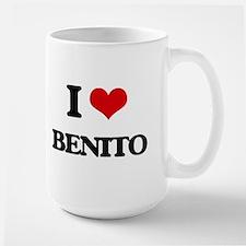 I Love Benito Mugs