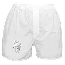 Cartoon Horn Boxer Shorts