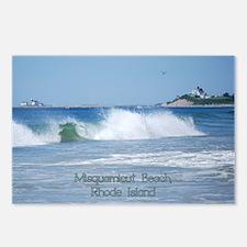 Breaking Ocean Wave Postcards (package Of 8)