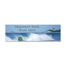 Breaking Ocean Wave Car Magnet 10 X 3