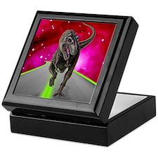Cosmic T-Rex Keepsake Box